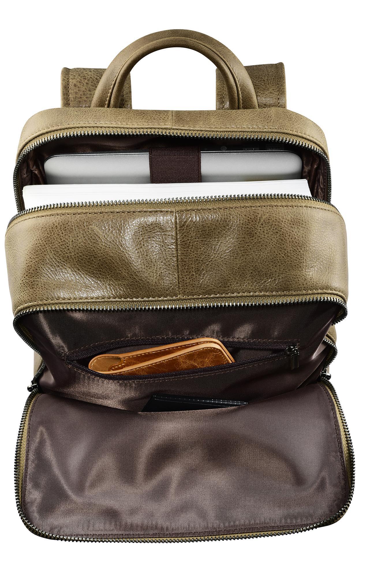 iCarer Shenzhou Real Leather Backpack 8