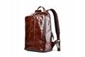 iCarer Vintage Oil Wax Real Leather Backpack 3