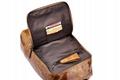 iCarer Vintage Oil Wax Real Leather Backpack 8