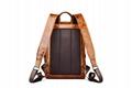iCarer Vintage Oil Wax Real Leather Backpack 2