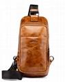iCarer Vintage Oil Wax Real Leather Cross Body Bag 1