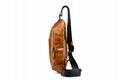 iCarer Vintage Oil Wax Real Leather Cross Body Bag 3