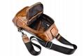 iCarer Vintage Oil Wax Real Leather Cross Body Bag 11