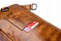 iCarer Vintage Oil Wax Real Leather Cross Body Bag 17