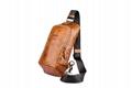 iCarer Vintage Oil Wax Real Leather Cross Body Bag 2