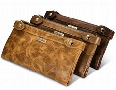 iCarer Vintage Leather Wallet Series