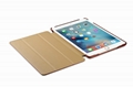 iCarer iPad Mini 4 Case folding Vintage Series Genuine Leather Stand Case Cover 9