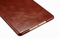 iCarer iPad Mini 4 Case folding Vintage Series Genuine Leather Stand Case Cover 14