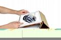 iCarer iPad Pro 9.7 inch Oil Wax Vintage Genuine Leather Folio Case 14