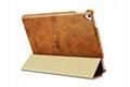 iCarer iPad Pro 9.7 inch Oil Wax Vintage Genuine Leather Folio Case 16