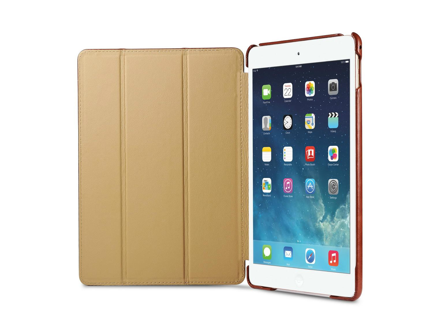 iCarer iPad Air 2/ iPad 6 Vintage Series Genuine Leather Stand Case Cover 8