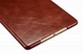 iCarer iPad Air 2/ iPad 6 Vintage Series Genuine Leather Stand Case Cover 18