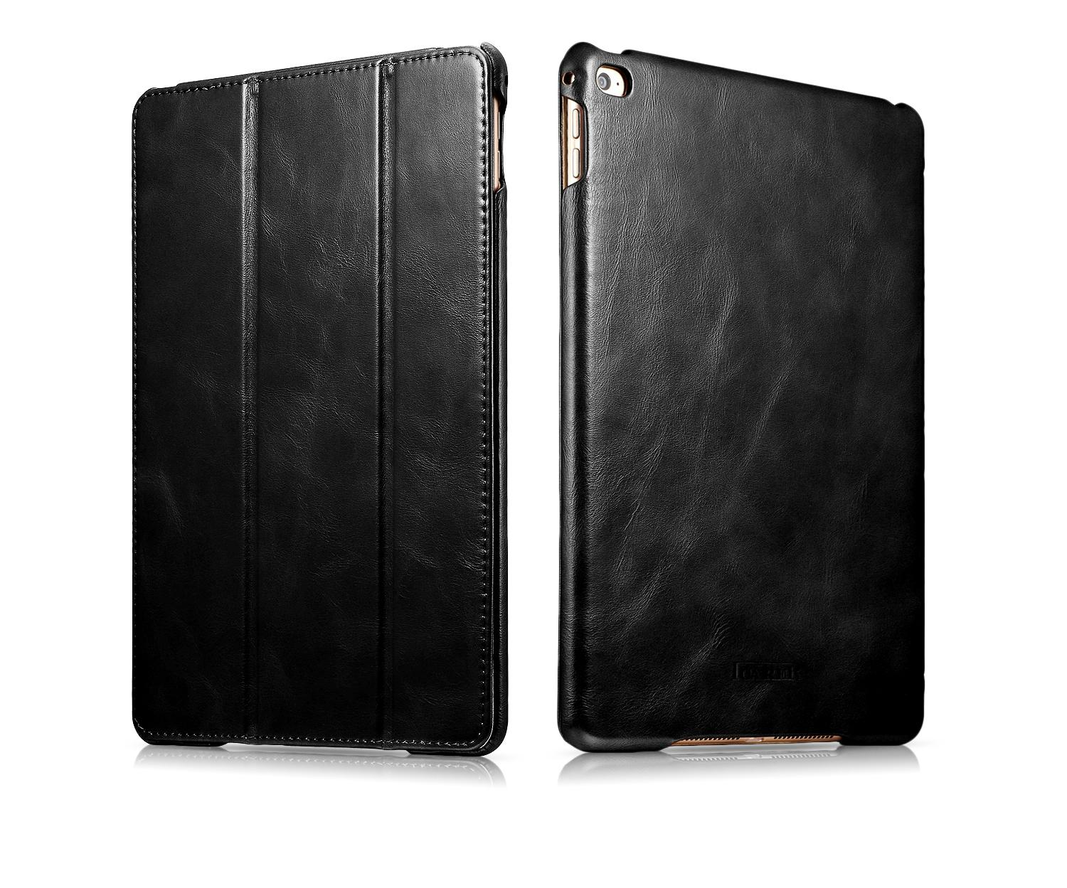 iCarer iPad Air 2/ iPad 6 Vintage Series Genuine Leather Stand Case Cover 2