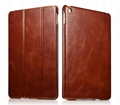 iCarer iPad Air 2/ iPad 6 Vintage Series Genuine Leather Stand Case Cover 1