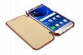 iCarer Samsung Galaxy S7 Edge Vintage Series Side Open Genuine Leather Case 15