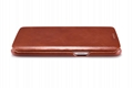 iCarer Samsung Galaxy S7 Edge Vintage Series Side Open Genuine Leather Case 8