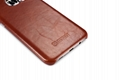 iCarer Samsung Galaxy S7 Edge Vintage Back Cover Series Genuine Leather Case 17