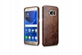 iCarer Samsung Galaxy S7 Edge Oil Wax Back Cover Series Genuine Leather Case 6
