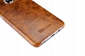 iCarer Samsung Galaxy S7 Edge Oil Wax Back Cover Series Genuine Leather Case 11
