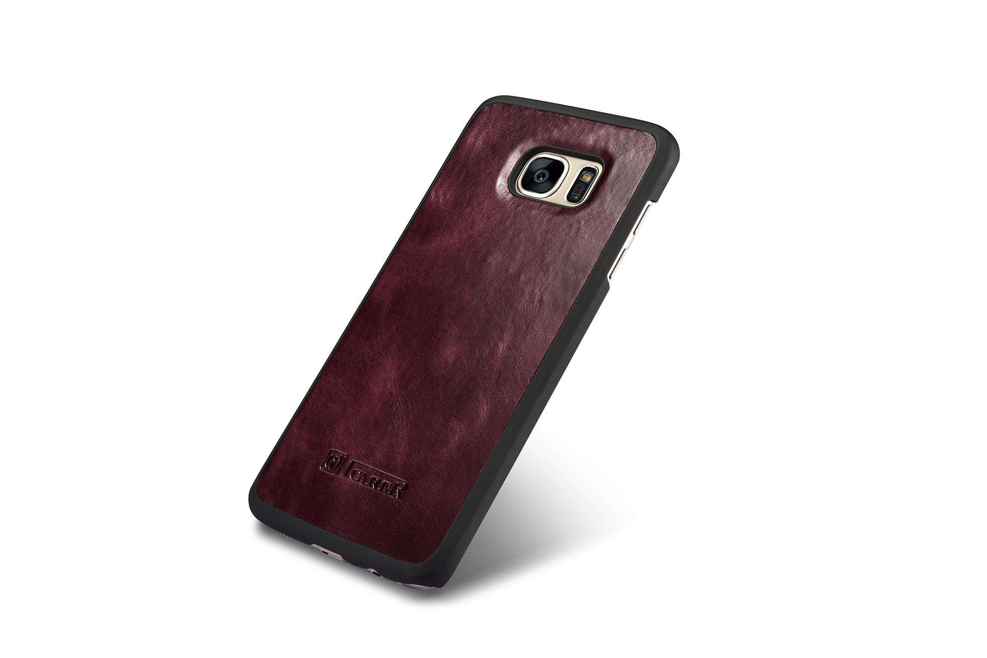 iCarer Samsung Galaxy S7 Edge Leather Detachable 2 in 1 Wallet Folio Case 8