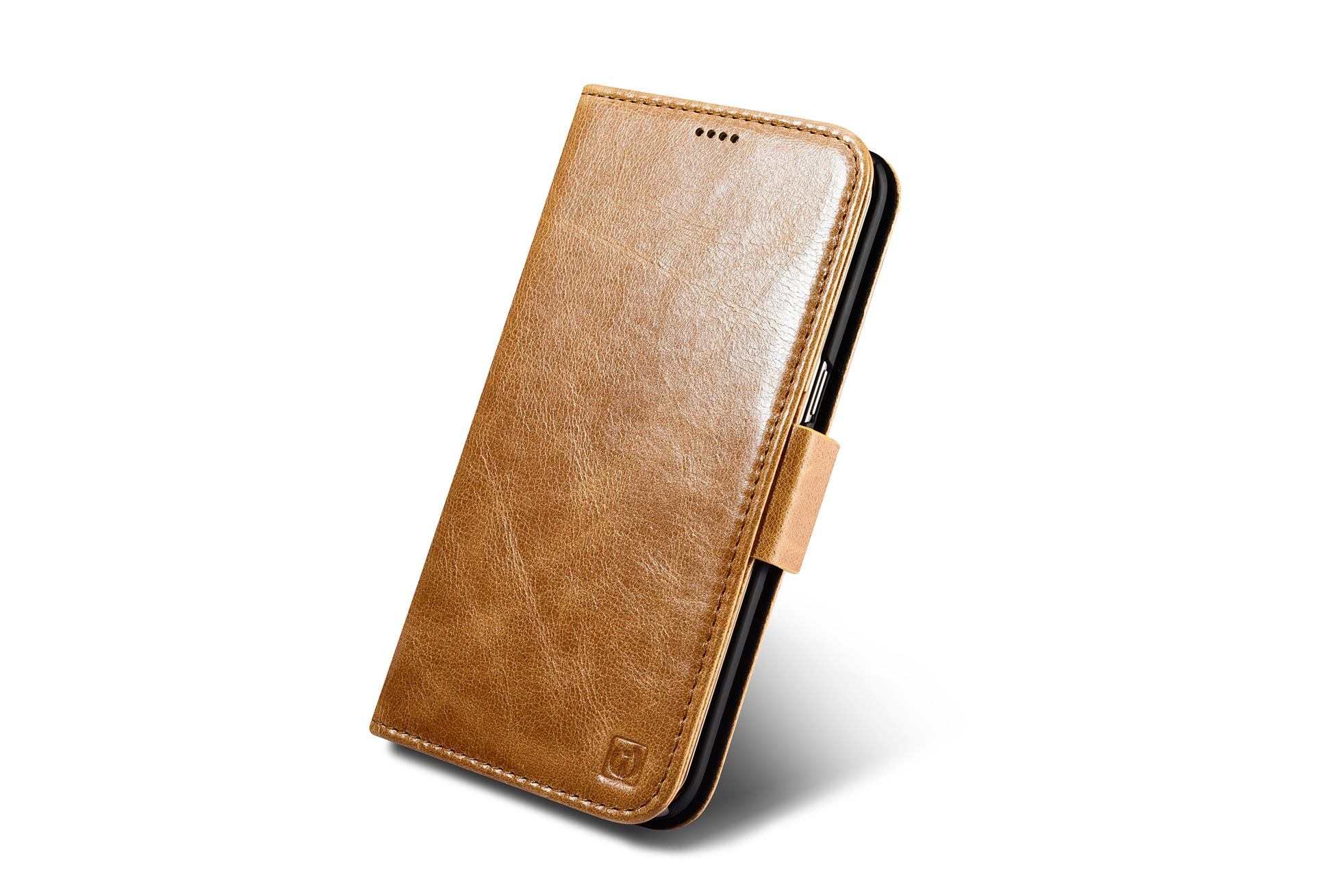 iCarer Samsung Galaxy S7 Edge Leather Detachable 2 in 1 Wallet Folio Case 4