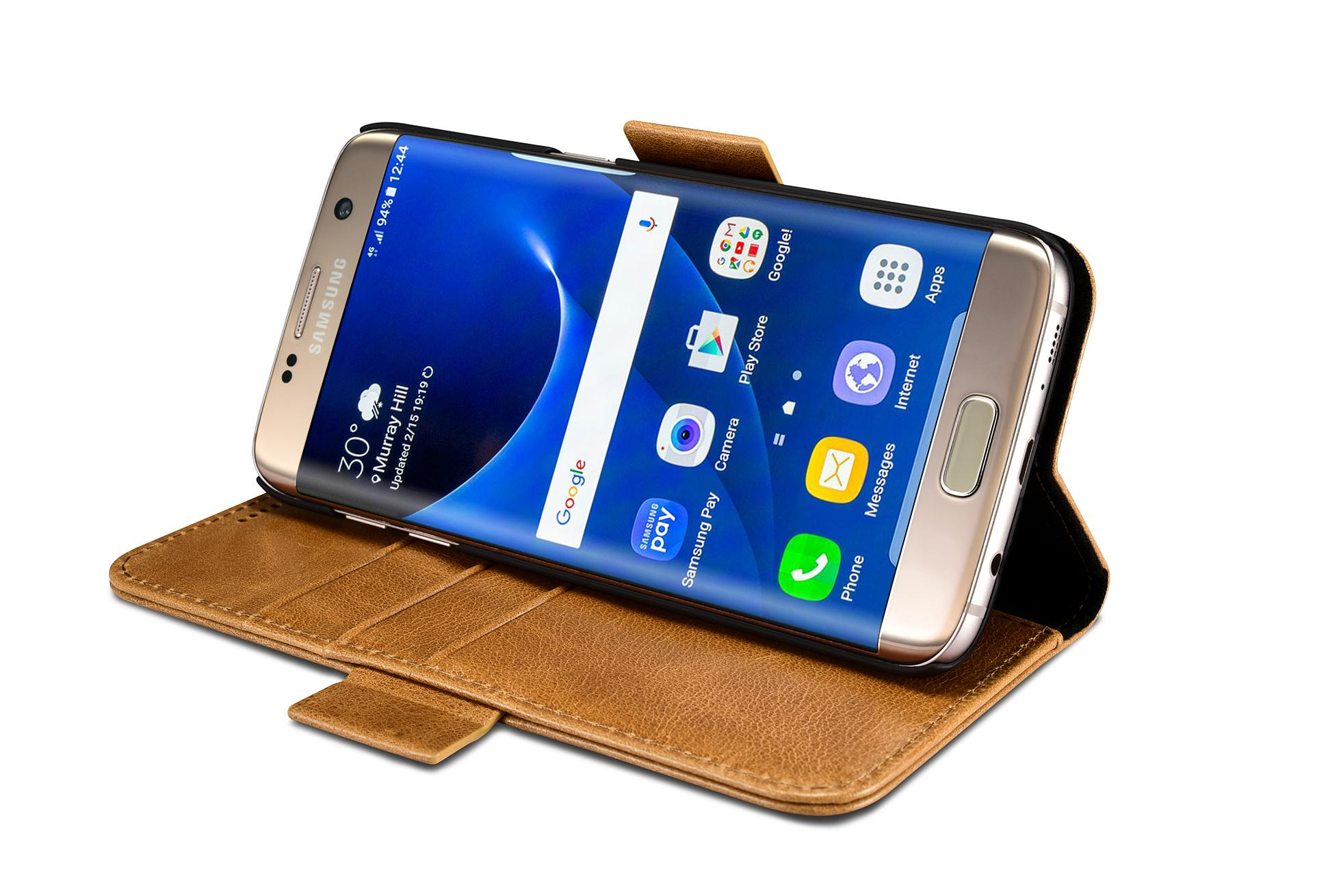 iCarer Samsung Galaxy S7 Edge Leather Detachable 2 in 1 Wallet Folio Case 13