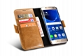 iCarer Samsung Galaxy S7 Edge Leather Detachable 2 in 1 Wallet Folio Case 11