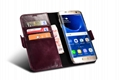 iCarer Samsung Galaxy S7 Edge Leather Detachable 2 in 1 Wallet Folio Case 12