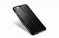 iCarer iPhone 6S Plus Side open Vintage Series Genuine Leather Wallet Stand Case 18