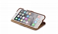 iCarer iPhone 6S Plus Side open Vintage Series Genuine Leather Wallet Stand Case 15