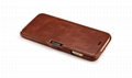 iCarer iPhone 6S Plus Side open Vintage Series Genuine Leather Wallet Stand Case 10