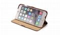 iCarer iPhone 6S Plus Side open Vintage Series Genuine Leather Wallet Stand Case 14
