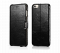 iCarer iPhone 6S Plus Side open Vintage Series Genuine Leather Wallet Stand Case 4