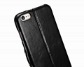 iCarer iPhone 6S Plus Side open Vintage Series Genuine Leather Wallet Stand Case 20