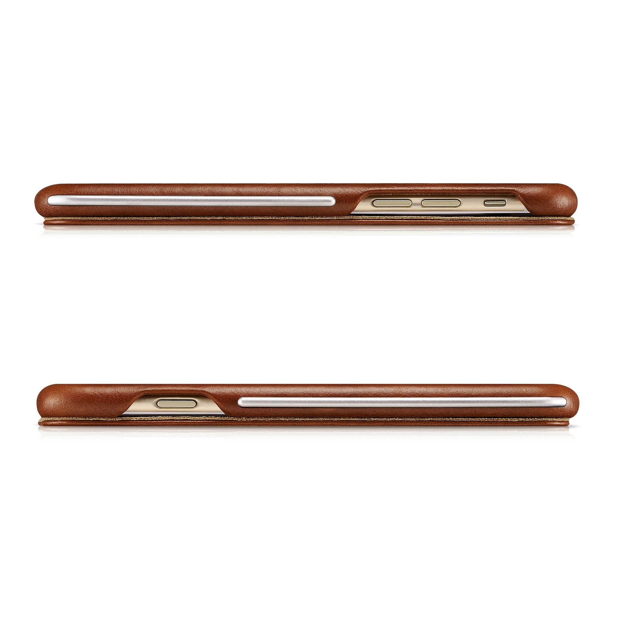 iCarer iPhone 6/6S Metal Warrior Vintage Series Magnetic Flip Leather Case 4