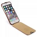 iCarer iPhone 6/6S Metal Warrior Vintage Series Magnetic Flip Leather Case 16