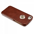 iCarer iPhone 6/6S Metal Warrior Vintage Series Magnetic Flip Leather Case 10
