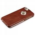 iCarer iPhone 6/6S Metal Warrior Vintage Series Magnetic Flip Leather Case 6