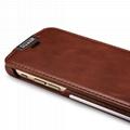 iCarer iPhone 6/6S Metal Warrior Vintage Series Magnetic Flip Leather Case 12