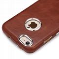 iCarer iPhone 6/6S Metal Warrior Vintage Series Magnetic Flip Leather Case 14