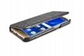iCarer Samsung Galaxy S7 Edge Embossed Crocodile Genuine Leather Folio Case 5