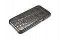 iCarer Samsung Galaxy S7 Edge Embossed Crocodile Genuine Leather Folio Case 3