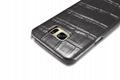iCarer Samsung Galaxy S7 Edge Embossed Crocodile Genuine Leather Folio Case 12