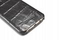 iCarer Samsung Galaxy S7 Edge Embossed Crocodile Genuine Leather Folio Case 13
