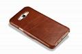 iCarer Samsung Galaxy A8 Case Vintage Series Open Side Genuine Leather Case 8