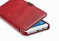 iCarer Samsung Galaxy A8 Case Vintage Series Open Side Genuine Leather Case 13