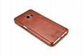 iCarer Samsung Galaxy Note 7 Curved Edge Vintage Side Open Genuine Leather Case 8