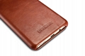 iCarer Samsung Galaxy Note 7 Curved Edge Vintage Side Open Genuine Leather Case 10