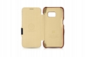 iCarer Samsung Galaxy S7 Vintage Series Side Open Genuine Leather Case 9