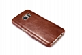 iCarer Samsung Galaxy S7 Vintage Series Side Open Genuine Leather Case 10
